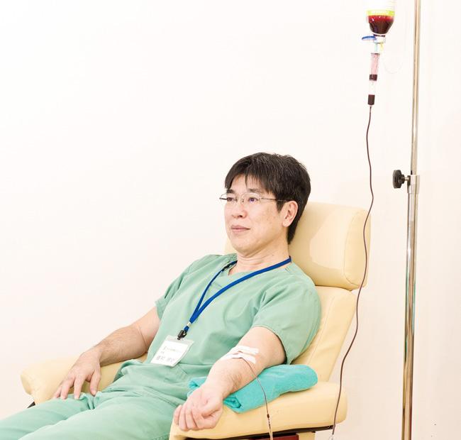 大量自家血療法(血液クレンジング)